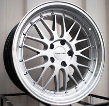 Varrstoen Es1 18X9.5 5X114.3 Et12 Hyper Silver W/Machine Lip (1 Wheel Only)