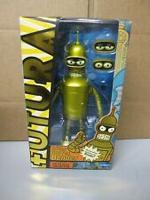Futurama Golden Talking Bender Figure - NEW MIB 2014 SDCC