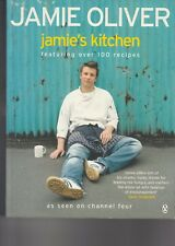 JAMIE OLIVER - JAMIE'S KITCHEN (Paperback, 2004) featuring over 100 recipes