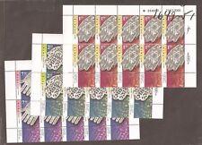 Israel 2006 Khamsa Full Sheets Scott 1649-1651  Bale 1638-1640