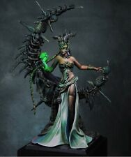 1/24 75mm Resin Figure Model Kit Blond Undead Magic Queen unpainted unassembled