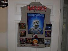IRON MAIDEN Tribute Vest-STONE--XL....Metallica,Slayer,Anthrax,Slayer, ACDC