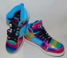OP Rainbow Shoes Size 6 Hip Hop Steam Punk