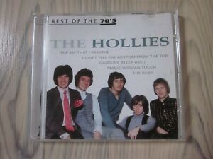 CD ~ THE HOLLIES ~ BEST OF THE 70´s