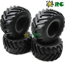 4pcs RC 2.2'' Big Foot Truck Monster Tires 130mm Fit RC Crawler RPM 2.2 wheels