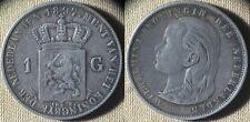 Netherlands : 1897  1 Gulden XF-  # 117  IR4523