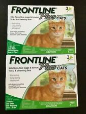 FRONTLINE Plus Flea +Tick Treatment Cats +Kittens 6 Doses Months New