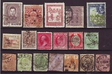 OLD WORLD * POSTAGE  BOB == 18 ==  FOREIGN  USED  UNSORTED