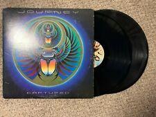 Journey Captured Record 2lps original vinyl album