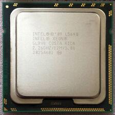 Intel Xeon Processor L5640 2.26GHz 12M 6 Core 12 thread LGA 1366 X58