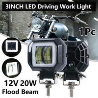 """3""""Inch LED Work Light Halo Cube Pod Driving Work Fog SPOT Light /FLOOD 12V 20W"""