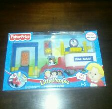 FISHER PRICE NIB PLAYSET Little People WAL MART SET SEMI TRUCK set with cargo