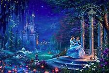 Thomas Kinkade - Disney Cinderella Starlight Puzzle for Kids Gift 750 Pieces
