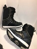 Burton Jeremy Jones Snowboarding Boots Men's Size 10 Snowboard Black