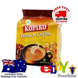 Kopiko Brown Coffee Brown Sugar Creamy Instant Coffee Mix 30sachets x 25g Halal