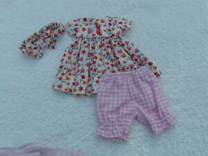 VERY PRETTY SASHA BABY DOLL OUTFIT HAND MADE BY STITCH SEW CUTE. EXCELLENT CON