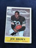 1964 PHILADELPHIA JIM BROWN #30 CLEVELAND BROWNS HOF