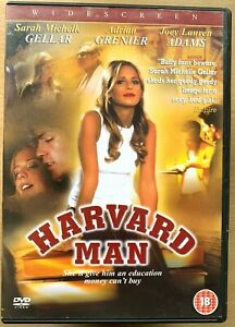 Harvard Man DVD 1999 Erotic Drama / Thriller starring Sarah Michelle Gellar