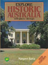 HISTORIC AUSTRALIA 1200 Places 80 Maps Margaret Barca **GOOD COPY**