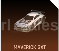 NEW Rocket League PAINTED TITANIUM WHITE MAVERICK GXT Rocket Pass Car Xbox One