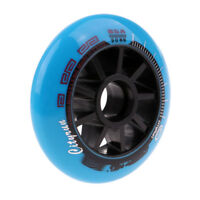 Inline Skate Wheels Outdoor Speed Skating Wheels Accessory Black/Blue/Red