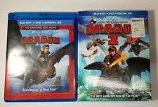 How To Train your Dragon 1&2 Blu Ray & DVD