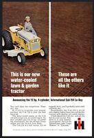 1969 INTERNATIONAL HARVESTER Cub 154 Lo Boy Garden Tractor Riding Lawn Mower AD