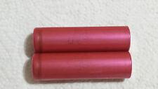 2x Genuine Sanyo 18650 2250 mAh 3.7V Li-ion Rechargeable Batteries!!!
