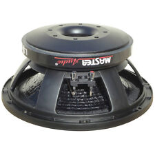 """WOOFER MASTER AUDIO FROM 300 MM 12"""" LSN12/8 8 OHM 500 WATTS RMS BLACK HOME DISC"""