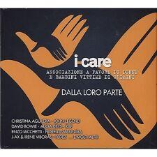 ENZO IACCHETTI CHRISTINA AGUILERA DAVID BOWIE PINK RAF J-AX FEDEZ I care CD 2013
