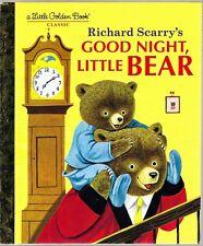 Children's Little Golden Book ~ Richard Scarry's GOOD NIGHT, LITTLE BEAR