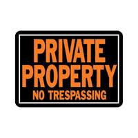 """# BEST 10"""" X 14"""" Private Property No Trespassing Sign Home Decoration NEW"""