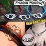 Hippy Bronze Handcuff Friendship Wish Bracelet Love Hope Happiness Karma Boho
