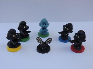 Schtroumpf mini figurine marchant monochrome figure Bully Bullyland- au choix