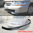 Type-r Style Front Bumper Lip Pp Fits 98-02 Honda Accord 4dr