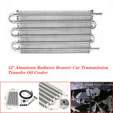 12'' Aluminum Radiator Remote Car Transmission Transfer Oil Cooler with 6 Row