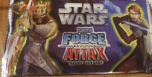 Star Wars Force Attax Series 2 Booster Pack Sealed