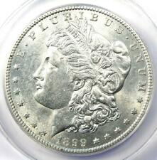 1899-S Morgan Silver Dollar $1 - Certified ANACS AU55 - Rare Date - Near MS UNC!