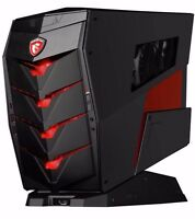 MSI AEGIS 205EU Gaming Desktop PC, i7-6700 16GB 256GB+1TB GTX 1060 6GB Win 10