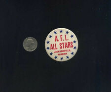 vintage scarce A.F.L. American Football league All Star game button pin badge