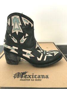 MEXICANA Boots Bottines Cuir 37/38