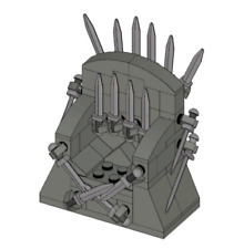 The Iron Throne Custom Lego INSTRUCTIONS ONLY Game of Thrones GOT
