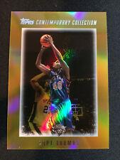 2003-04 Topps Contemporary Collection Knicks NBA Card #82 Kurt Thomas Gold /25