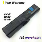 New Genuine PA3817U-1BRS Toshiba Satellite Battery A660 C650D C655 L655 L750L755