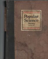 Popular Science Bound Volume January to June 1916 Zeppelins Cars Airplanes