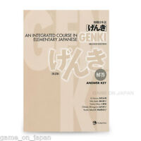 GENKI An Integrated Course in Elementary Japanese Answer Key genki 2nd Edition)