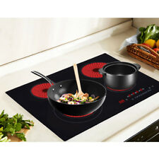 5 Years Warrant Electric Ceramic Hob 60cm Touch Control 4 Zone Frameless UK