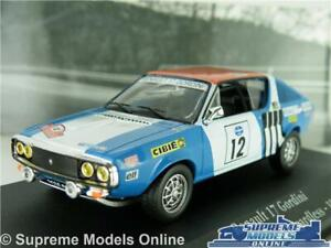 RENAULT 17 GORDINI CAR MODEL 1:43 SIZE 1974 IXO ATLAS RALLY PRESS ON NO12 T3