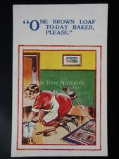 Cleaner Theme ONE BROWN LOAF TODAY BAKER PLEASE....... H.B.Ltd 4750