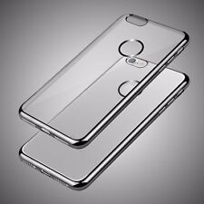 For Apple iPhone 5 5s SE 8 7 6s Plus Clear Gel Case Cover and Screen Protector